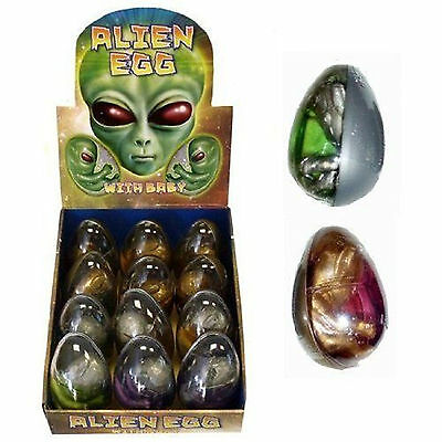 ALIEN EGG Baby Embryo Goo Birthpod for Kids Party Bag Filler Favour Toys Fun