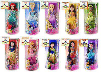 PRINCIPESSE DISNEY Bambole Base Classiche 30cm by Hasbro Princess Fashion Doll