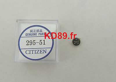 Original Citizen eco drive movement capacitor battery  295-5100