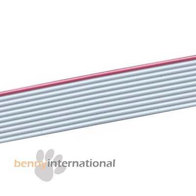 10 WAY RIBBON CABLE 28 AWG 300V per 0.5m - AUS STOCK