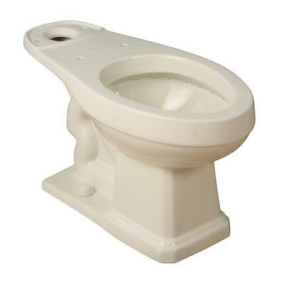 Foremost LL-1930-BI Round Toilet Bowl Only in Biscuit