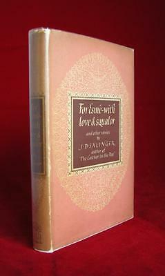 For Esme - With Love & Squalor and Other Stories by J.D. Salinger (1953) 1st Ed.
