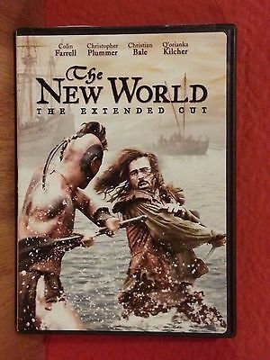 The New World: The Extended Cut  DVD  LIKE NEW