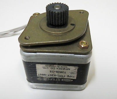 Minebea Astrosyn Stepper Motor 17pm K405 02v 24v 1 5a For