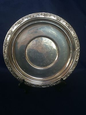 Reed & Barton BURGUNDY X747 Sterling Silver Large Sandwich Plate