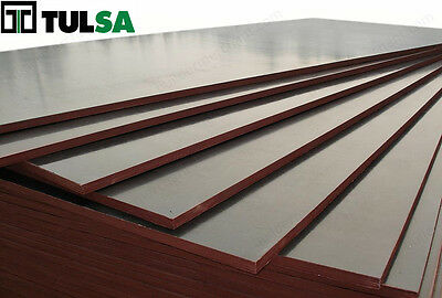 Tulsa Form Formwork Plywood - Concrete Forming Panel MDO Plywood Sheets 18mm