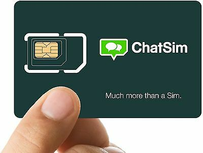 ChatSim World - Global SIM card to chat with WhatsApp Telegram and other Chat...