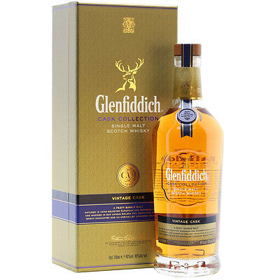 Glenfiddich Cask Collection Vintage Cask Single Malt Scotch Whisky 700mL