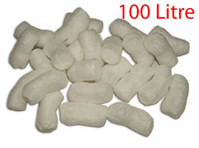 100 Litre Void Bio Enviro Loose Fill Biofill Packing packaging Peanuts nuts Foam