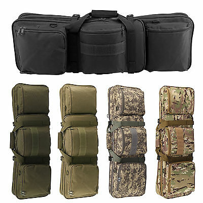 Tactical Hunting Shooting Padded Carry Case Air Rifle Gun Slip Bag 5 Colors UK