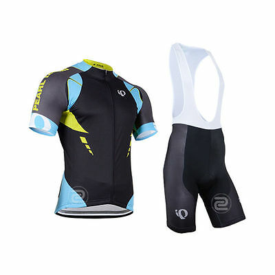 CU-910 New men cycling jeresy Cycling clothes + bib shorts set Race Fit GEL PAD