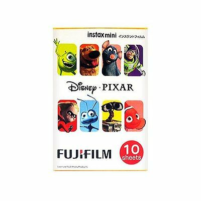 10 Sheet Fujifilm Instax Mini Film Disney PIXAR 7 7s 8 10 20 25 50 #FJ026X