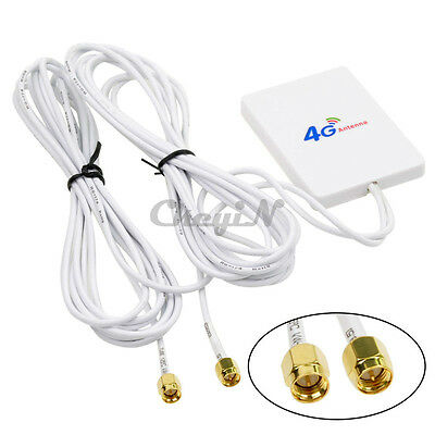 LTE SMA Port External Antenna Booster Amplifier 28dBi for 4G 3G Mobile Router