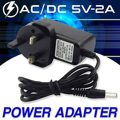 Universal AC/DC Power Adaptor Supply Plug Main Charger 3 Pin 5V 2A UK Seller