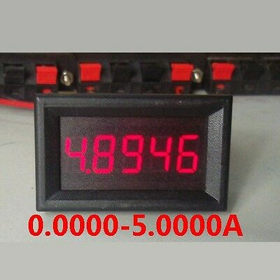 DC 0-5.000A 5A Digital LED Ammeter AMP Meter Charge-discharge Monitor Current
