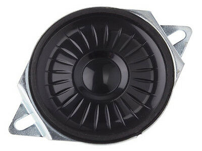 Miniature Mylar Speaker, 8ohm, 0.5W, 40mm with Mounting Flanges ABS-234-RC