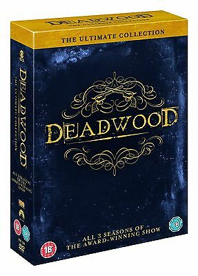 DEADWOOD - Complete Series 1-3 Collection Boxset (NEW DVD R4)
