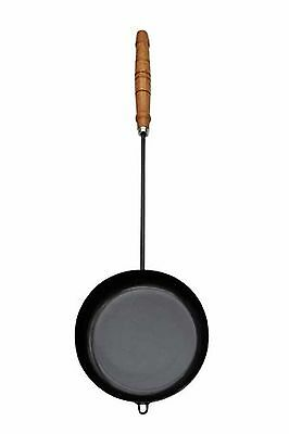 Gardeco COOK-IRON2 Long Handled Teflon Coated Cooking Iron - Black