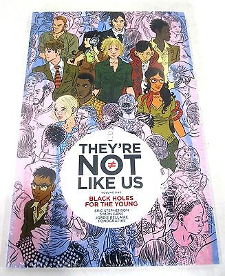 They're Not Like Us Vol 1 Black Holes for the Young New Graphic Novel Comic Book