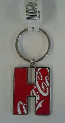 "Coca Cola Letter ""H"" Keychain"