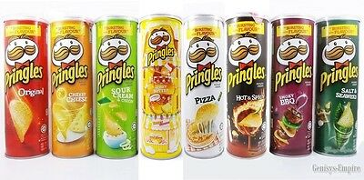 Pringles Potato Chips Super Stack Snack Bursting With Flavour One Can 110 G.