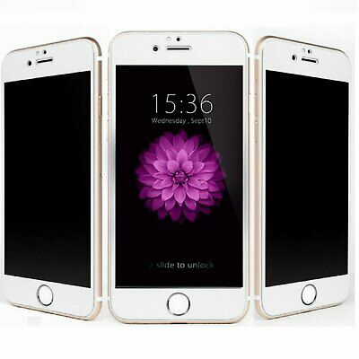 White Privacy Anti-Spy Tempered Glass Screen Protector for iPhone 6 / 6s /6 Plus