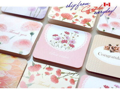 Blossom Gift Cards in Pink Envelope/Sold in 5 Pcs