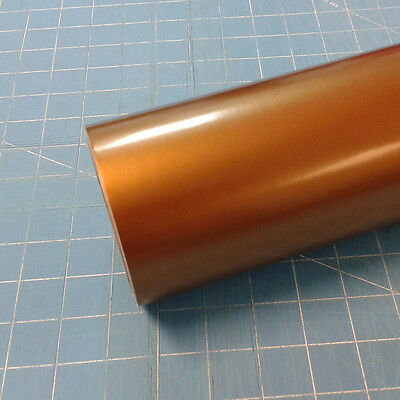 "Copper Metallic Oracal 651 (1) Roll 12"" X 10' Sign Cutting Vinyl"