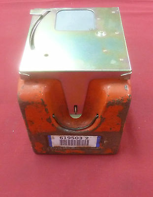 Western Electric Black or Orange Coin Box w/ Lid Money Box Payphone AT&T Bell