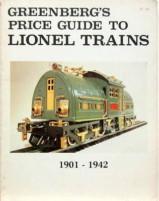 1901-1942 Greenberg's Price Guide To Lionel Trains