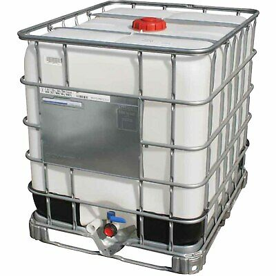 1000Ltr NEW Schutz IBC with FREE adaptor