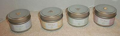 Partylite Well Being 4 Candle Tins Gift Set
