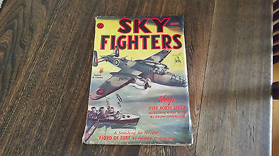 Sky Fighters Magazine Pulp Fiction August 1944 Ww2