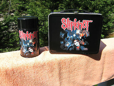 Slipknot Neca Metal Lunch Box & Thermos Bottle 2001
