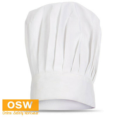 White Chef Pastry Kitchen Bakery Italian Restaurant Traditional Chef Hat