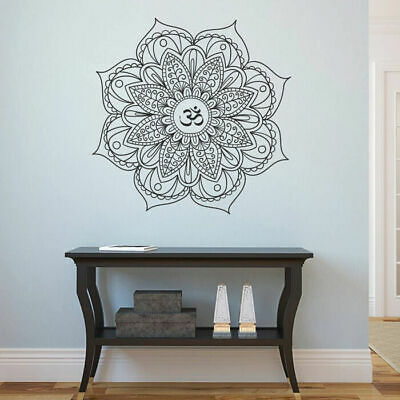 ik1678 Wall Decal Sticker mandala ornament living room bedroom decor hindu art