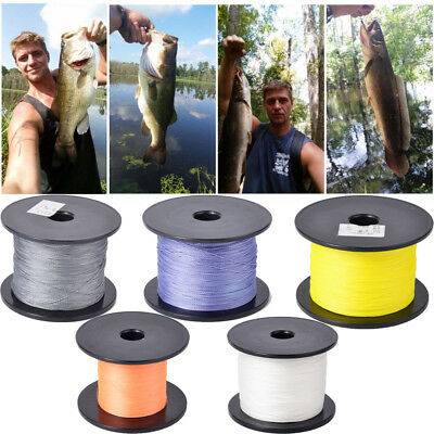 500M Gray Spectra Super Strong Dyneema PE Braided Sea Fishing Line High Quality