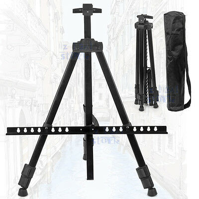 Tripod Easel Display Stand Drawing Board Artist Sketch Painting Adjustable NEW