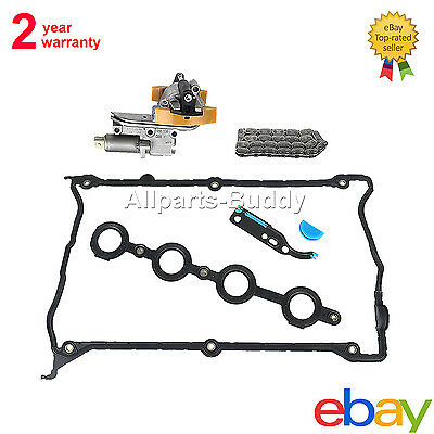 NEW CAM SHAFT TIMING CHAIN TENSIONER SOLENOID GASKET KIT For AUDI A4 TT 1.8T