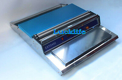 New Food Tray Wrapper Film Wrap Sealer Sealing Machine For Fruit /Food 220V H