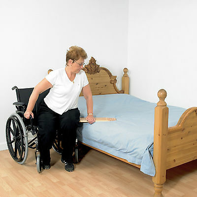 Transfer Board (Short) Laminated Plywood board  for Bed/Wheelchair/Car Transfer.