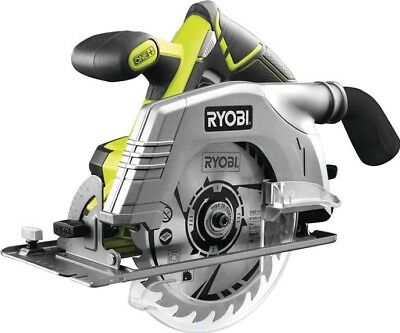Ryobi ONE+ 18V 165mm Circular Saw 18 Volt Bare Unit R18CS-0