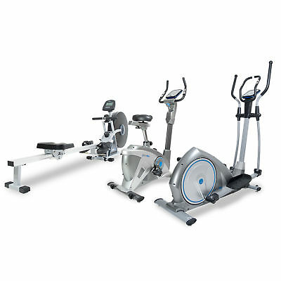 Bodymax Premium CV Package - Rower, Elliptical Trainer and Bike