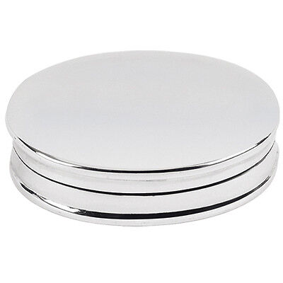 UK Hallmarked Sterling Silver Pill Box  + Free Gift Case 4073