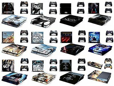 Hot Fashion Star Wars Skin Sticker for Sony PS4 & Xbox One Decals Free shipping