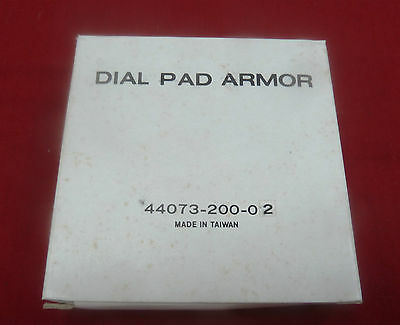 New Western Electric AT&T Dial Pad Armor Payphone Pay Phone Bell Bezel Buttons