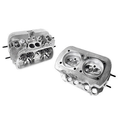 NEW PAIR VW 1600 DUAL PORT HIGH PERFORMANCE CYLINDER HEADS,  90.5/92mm BORE