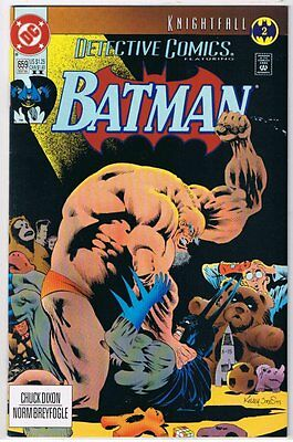 Detective Comics (1937 1st Series) #659 VF/NM Batman DC 1993 Book