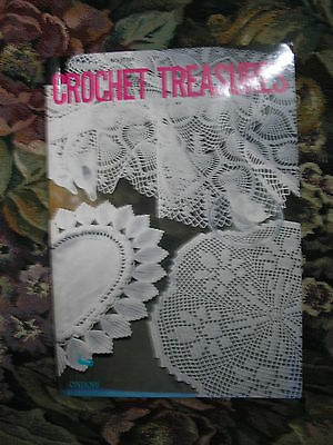 Crochet treasures 35 patterns book by Ondori for table cloth,doilies,piano cover