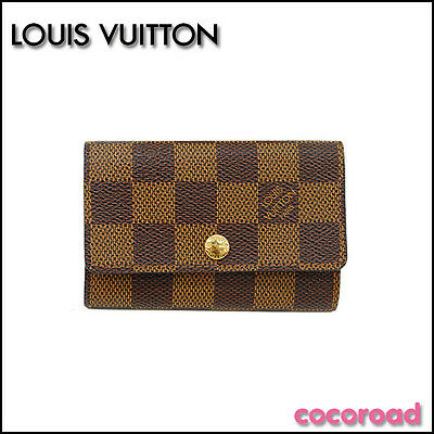 LOUIS VUITTON Damier Multicles6 key holder N62630from Japan